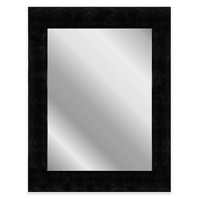 Alternate image 1 for Hitchcock-Butterfield 26-Inch x 62-Inch Waves Mirror in Midnight Black