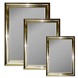 Hitchcock-Butterfield Pewter Tiered Step Mirror