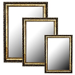 Hitchcock-Butterfield  Roman Beaded  Mirror in Gold