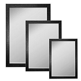 Hitchcock-Butterfield Scotch Plaid Wall Mirror in Black