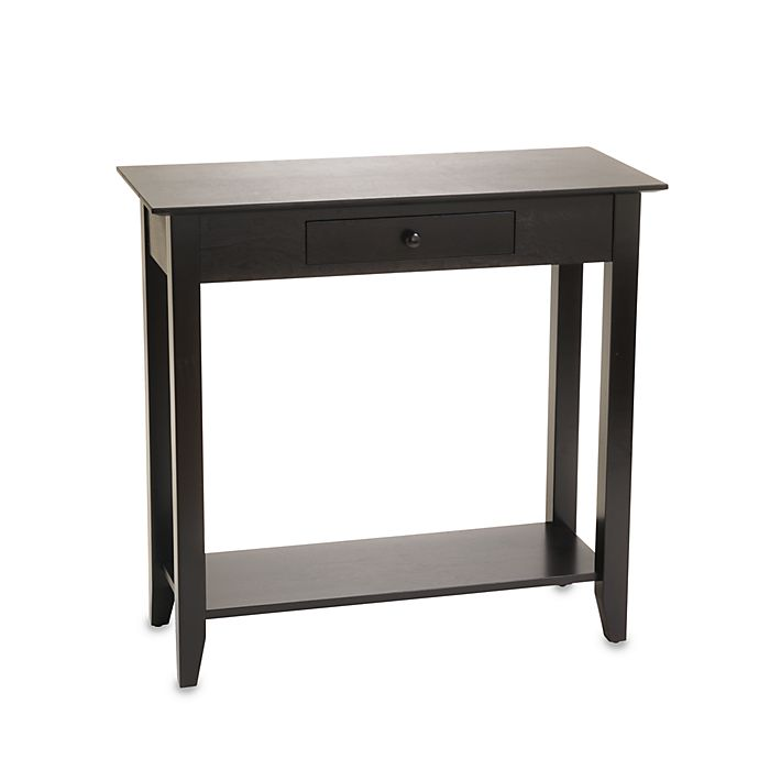 Alternate image 1 for American Heritage Hall Table in Black