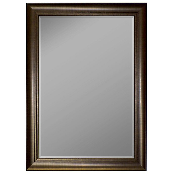 Alternate image 1 for Hitchcock-Butterfield 27-Inch x 37-Inch Tri-Step Tiered Mirror in Copper