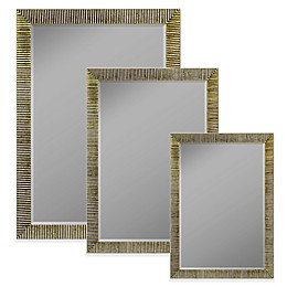 Hitchcock-Butterfield Textured Accent Mirror in Silver