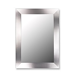 Hitchcock-Butterfield Satin Brushed Nickel Full Length Dressing Mirror in Silver