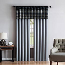 VCNY Madison 84-Inch Rod Pocket Window Curtain Panel Pair