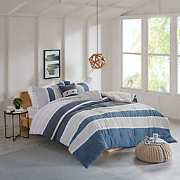 Isla Flannel Reversible Comforter Set