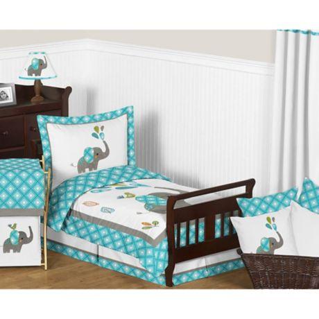 Sweet Jojo Designs Mod Elephant Bedding Collection ...