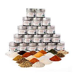 Gustus Vitae 20-Pack Ultimate Artisan Seasoning and Sea Salt Collection