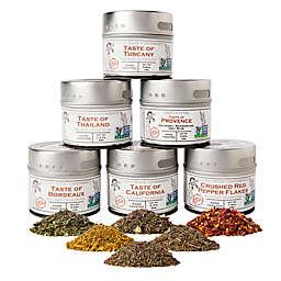 Gustus Vitae 6-Pack Salt-Free Seasoning Collection