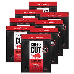 Chef's Cut Real Steak Jerky 8-Pack in Original Recipe