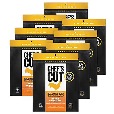 Chef's Cut Real Chicken Jerky 8-Pack in Honey Barbecue