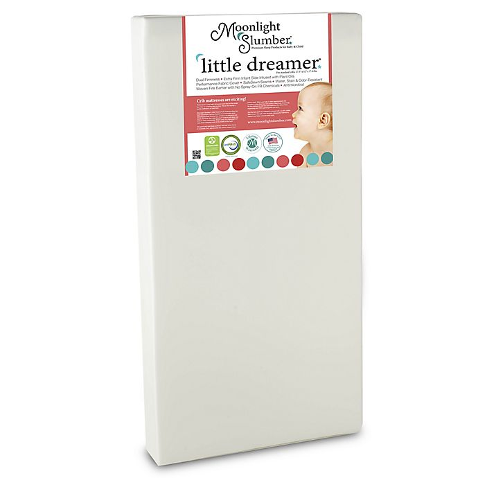 Alternate image 1 for Moonlight Slumber Little Dreamer Crib Mattress