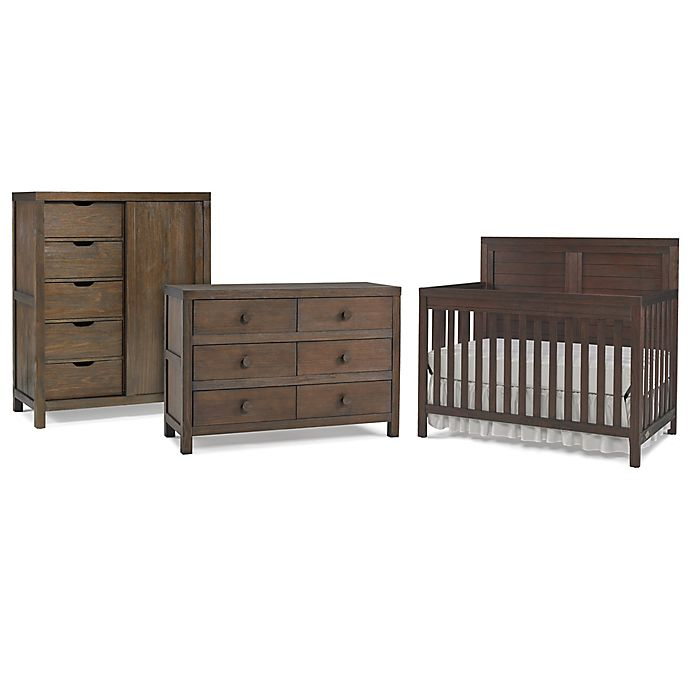 Alternate image 1 for Ti Amo Castello Bedroom Furniture Collection in Weathered Brown