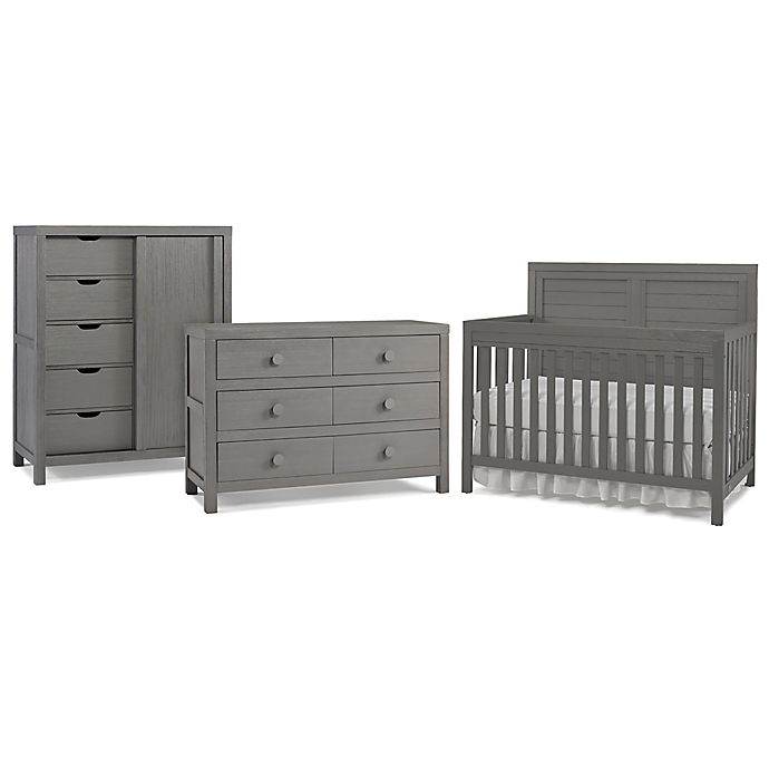 Alternate image 1 for Ti Amo Castello Bedroom Furniture Collection in Weathered Grey