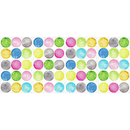 York Wallcoverings Watercolor Dots Peel and Stick Wall Decals (Set of 60)