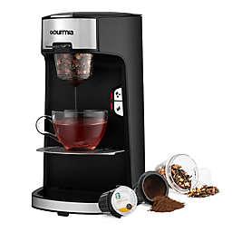 Gourmia® Single Serve Coffee & Tea Maker in Black