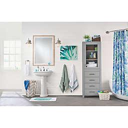 Tropical Oasis Coastal Bathroom
