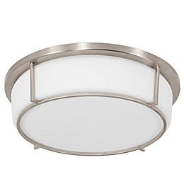 Rogue Décor Company Smart LED Ceiling Light with Opal Glass Shade