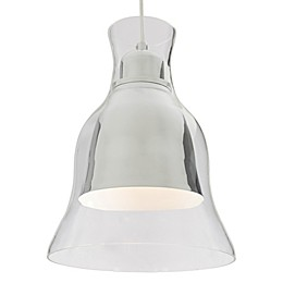 Rogue Décor Spinners 1-Light Mini Pendant with Glass Shade