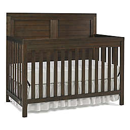 Ti Amo Castello Full Panel Convertible Crib in Weathered Brown