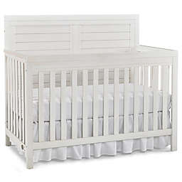 Ti Amo Castello Full Panel Convertible Crib in Weathered Seashell