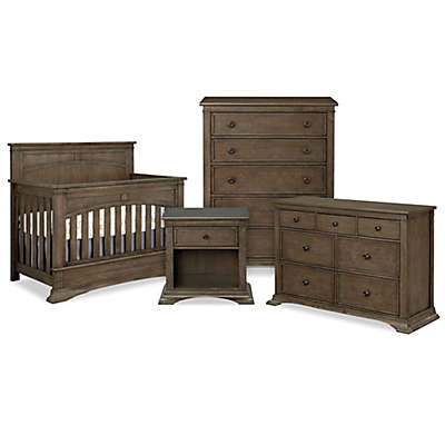 BassettBaby® Premier Emerson Furniture Collection in Heron Grey