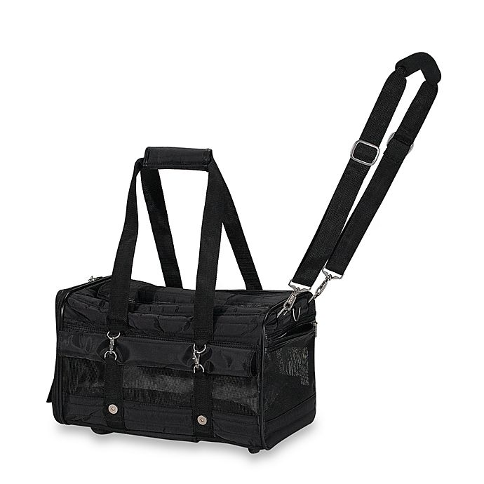 Sherpa The Ultimate Bag On Wheels Pet Carrier In Black