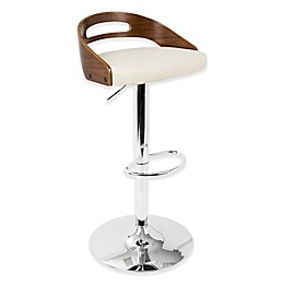 LumiSource Cassis Bar Stool in Cream