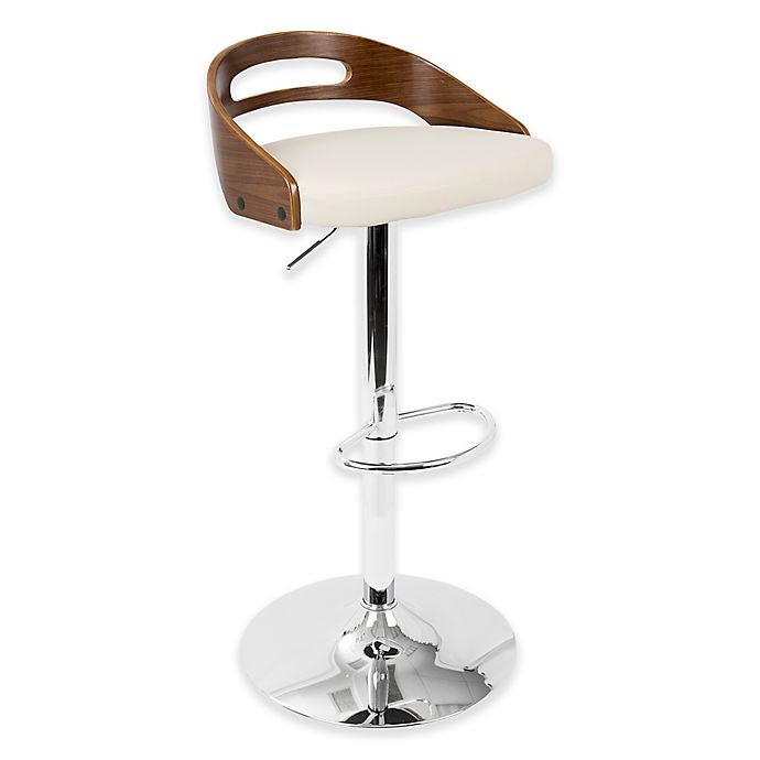 Remarkable Lumisource Cassis Bar Stool In Cream Bed Bath Beyond Evergreenethics Interior Chair Design Evergreenethicsorg