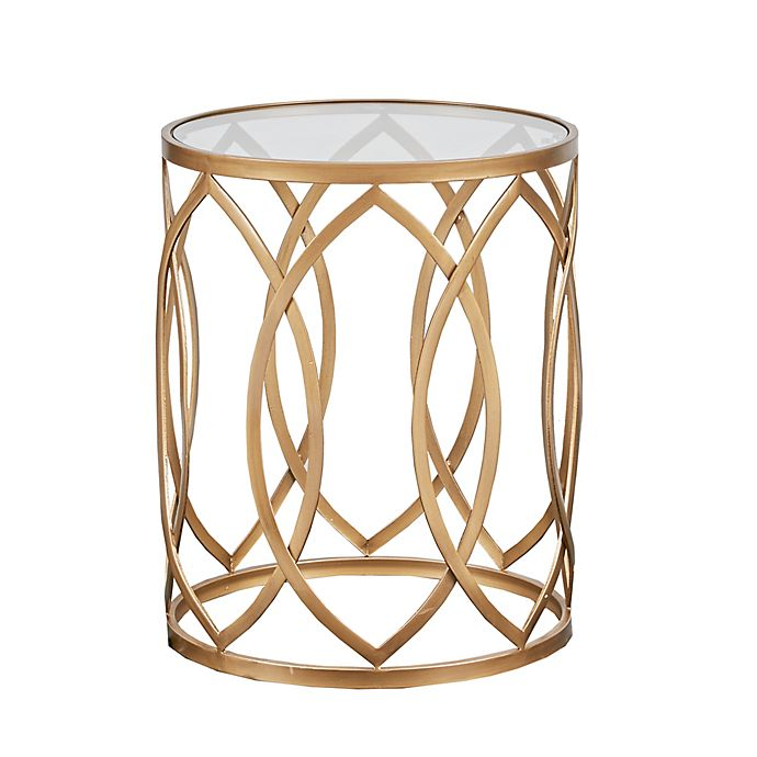 Alternate image 1 for Madison Park Arlo Accent Table in Gold