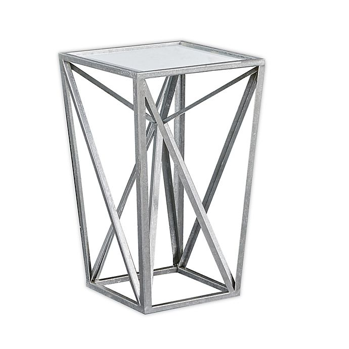 Alternate image 1 for Madison Park Zee Accent Table in Silver