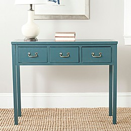 Safavieh Cindy Console Table in Teal