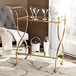 Safavieh Lucretius Bar Cart in Gold