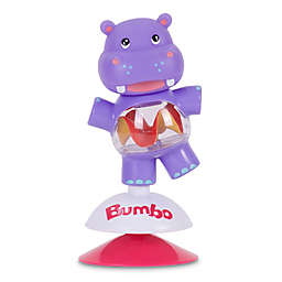 Bumbo Hildi the Hippo Suction Toy in Purple
