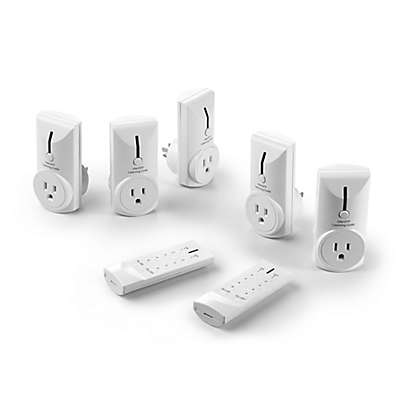 Link2Home 7-Piece Remote Control Electrical Outlet Set