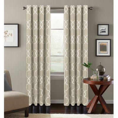 Colordrift Mandy Grommet Top Room Darkening Window Curtain