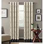 Colordrift Mandy 84-Inch Grommet Top Room-Darkening Window Curtain Panel in Natural