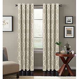 Colordrift Mandy Grommet Top Room-Darkening Window Curtain Panel