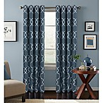 Colordrift Mandy 95-Inch Grommet Top Room-Darkening Window Curtain Panel in Indigo