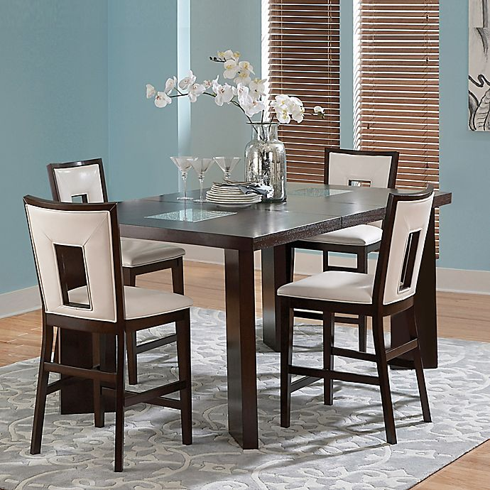 Cool Steve Silver Co Delano Dining Collection In Espresso Cherry Download Free Architecture Designs Crovemadebymaigaardcom