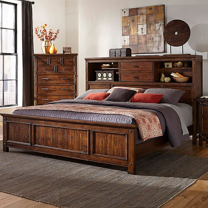 Intercon Wolf Creek Bookcase Bed Bed Bath Amp Beyond