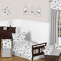Sweet Jojo Designs Woodland Animals Toddler Bedding Collection
