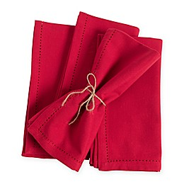 Laguna Hemstitch Napkins (Set of 4)