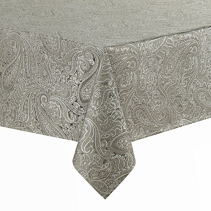 Alternate image 1 for Waterford® Linens Esmerelda Oblong Tablecloth
