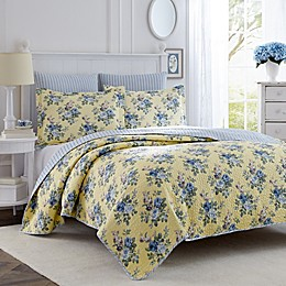 Laura Ashley® Linley Twin Quilt Set