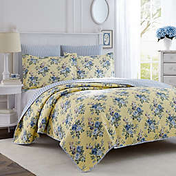 Laura Ashley Linley Twin Quilt Set