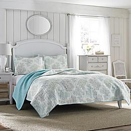 Laura Ashley® Saltwater Reversible Quilt Set