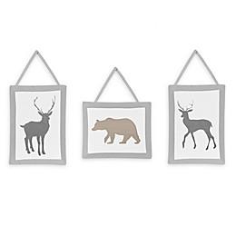 Sweet Jojo Designs® Woodland Animals Wall Hangings (Set of 3)