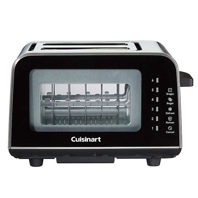 Alternate image 1 for Cuisinart® ViewPro™ Glass 2-Slice Toaster