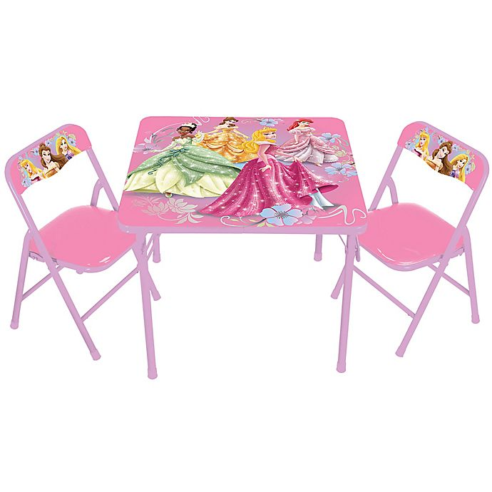 disney princess 3 piece activity table and chairs set bed bath
